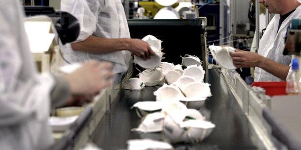 200 millions, c'est le nombre prévu de masques produits par an début 2021 dans l'ex-usine deChaffoteaux et Maury.