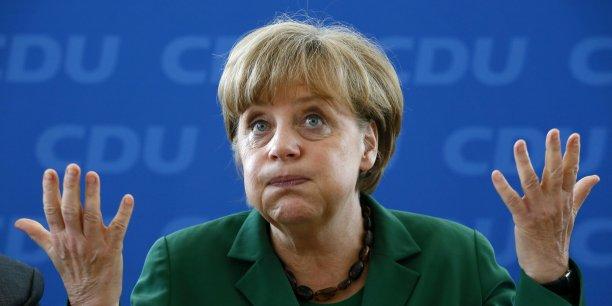Angela Merkel tente de faire face à des injonctions contradictoires