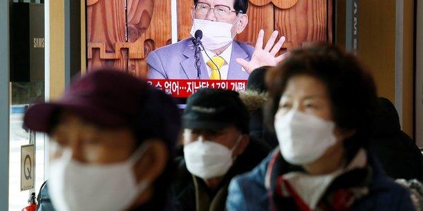 Coree du sud: arrestation du chef d'une secte liee a un foyer de covid-19[reuters.com]