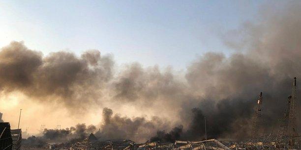Liban: forte explosion dans la zone portuaire de beyrouth[reuters.com]