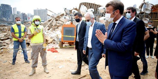Macron promet de l'aide au liban, appelle a refonder l'ordre politique[reuters.com]