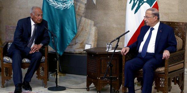La ligue arabe se dit prete a se mobiliser pour le liban[reuters.com]