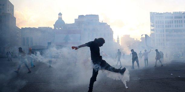 Coups de feu entendus a beyrouth en pleine manifestation contre le gouvernement[reuters.com]