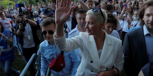 Une figure de l'opposition bielorusse brievement detenue a la veille de la presidentielle[reuters.com]