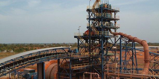 Mine d'or de Morila, au Sud du Mali.