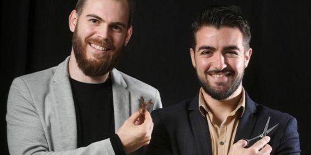 James Taylor et Clément Baldellou, deux anciens de l'ESC Clermont, ont cofondé l'an dernier la startup clermontoise Capillum à tout juste 24 et 25 ans.