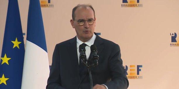 Convaincre, malgré les inconnues dans l'équation de la relance, telle était la mission de Jean Castex qui a souligné les engagements du gouvernement en faveur de l'industrie.