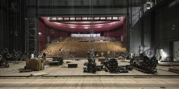 En pleine installation, la billetterie du nouveau théâtre de la Comédie ouvrira dès le 2 septembre pour les abonnements et à compter du 5 septembre pour la billetterie individuelle.
