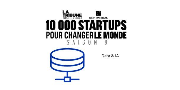 Découvrez les finalistes dans la catégorie Data & IA de la saison 8 du prix 10.000 startups pour changer le monde, organisé par La Tribune.