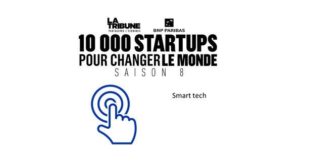 Découvrez les finalistes dans la catégorie Smart tech de la saison 8 du prix 10.000 startups pour changer le monde, organisé par La Tribune.