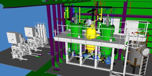 Le Module de traitement des déchets organiques par oxydation hydrothermale  mis au pont par Leroux et Lotz serait une première mondiale
