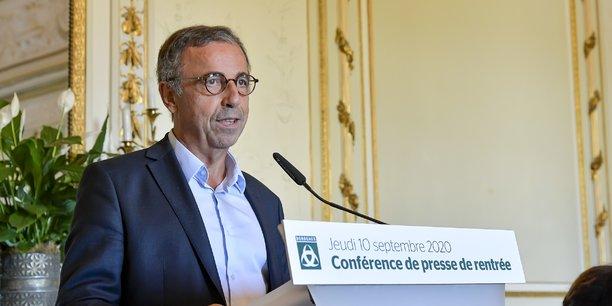 Pierre Hurmic, le maire de Bordeaux, le 10 septembre 2020