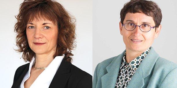 Marie-Christine Lichtlé, directrice de MOMA, et Sylvie Sammut, directrice du nouvel incubateur UM I-Lab by MOMA.