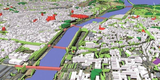 Nourri de données et de calcul, le jumeau numérique va aussi permettre d'effectuer des simulations à l'horizon 2030 en intégrant les évolutions en temps réel. « C'est une autre façon de travailler. Il ne s'agit pas de révolutionner l'analyse et l'expertise, mais d'amener de la pertinence. Les outils sont là. Le vrai défi, c'est l'humain...», reconnaît Laurent Bouillot. La pédagogie sera aussi un chantier. Un autre enjeu de la ville intelligente.