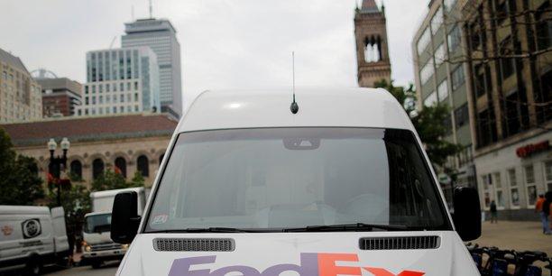 Fedex est a suivre a la bourse de new york.[reuters.com]