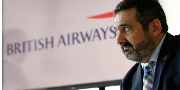 Álex Cruz, le PDG de British Airways, démissionne avec effet immédiat et sera remplacé par Sean Doyle, PDG d'Aer Lingus.