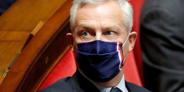 Le ministre de l'économie, Bruno Le Maire, exige des assureurs un gel des primes pour 2021 pour les restaurateurs, les cafetiers et les hôteliers.