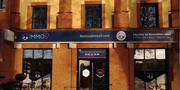 L'agence de courtage en immobilier neuf de Toulouse IMMO9 sur le quai de Tounis