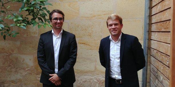Thomas Chargé, directeur associé santé, et Alexandre Petit, président et fondateur d'Alogia Groupe.