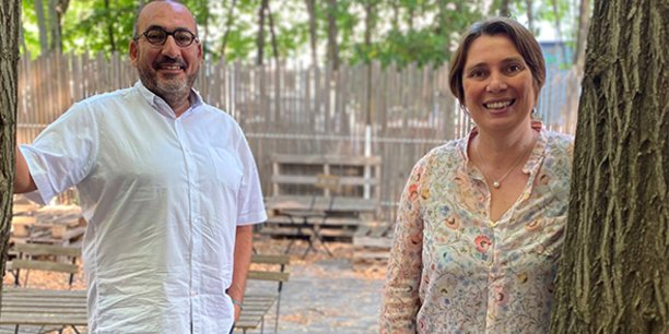 Philippe Nahoum, fondateur et dirigeant de l'agence digitale montpelliéraine Choosit, passe la main à Françoise Nauton-Inglis.