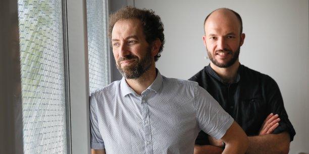 Xavier Sembely et Patrick Callec sont les deux fondateurs de Immoblade.