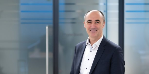 Franck Bouétard, le PDG d'Ericsson France.