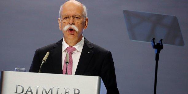Daimler: zetsche renonce a la presidence du conseil de surveillance[reuters.com]