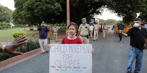 Une petite indienne de 8 ans porte la question climatique dans son pays[reuters.com]