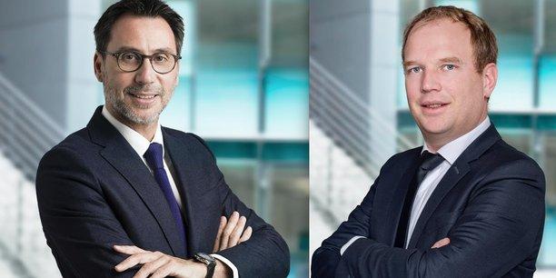 Jean-Pascal Beauchamp (à gauche) et Christophe Guerner (à droite).