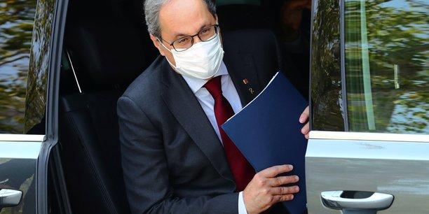 La cour supreme espagnole interdit toute fonction publique au president catalan[reuters.com]