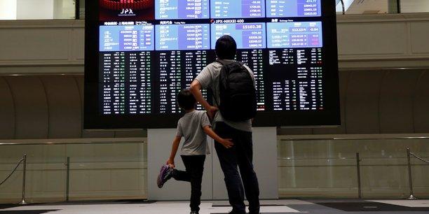 La bourse de tokyo finit en baisse[reuters.com]