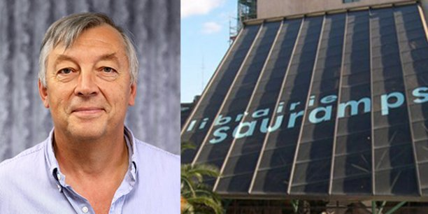 Alain Derey est, depuis le 1er octobre, le nouveau P-dg des librairies Sauramps à Montpellier.