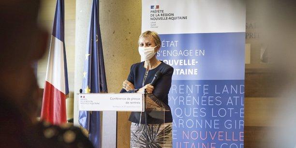 Fabienne Buccio préfète de la Gironde et de Nouvelle-Aquitaine