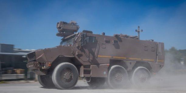 Au total, le ministère des Armées prévoit dans le cadre du programme Scorpion la livraison de 1.872 véhicules Griffon à l'armée de Terre