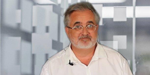 Lionel Bardinet, gérant de la société Bardinet Télécom.