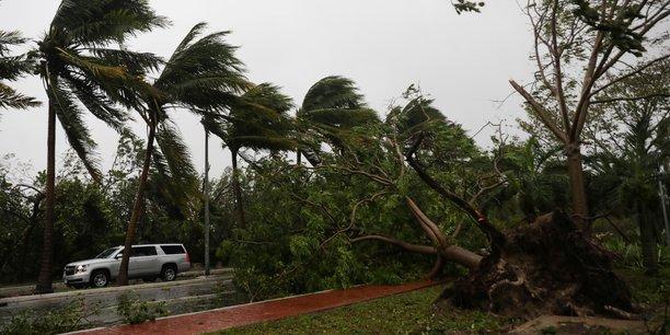 Ouragan Delta en octobre 2020
