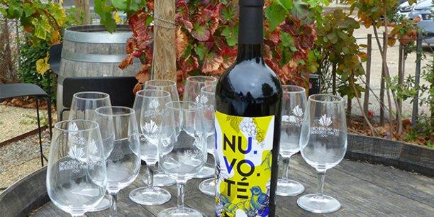 La coopérative audoise a pris le parti de créer une marque, NU.VO.TE, en rupture avec les codes traditionnels du vin pour marquer les esprits.