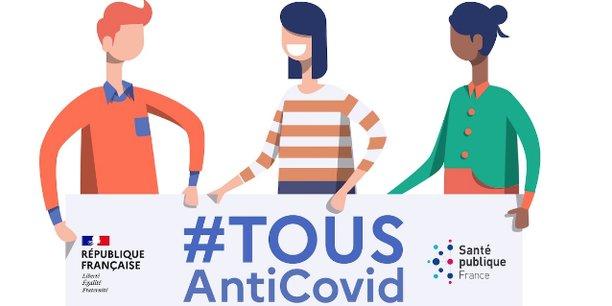 L'application Tous AntiCovid est lancée ce jeudi 22 octobre.