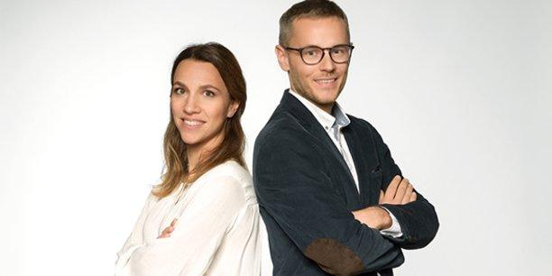 Magali Quentel-Reme et Sébastien Moutte, fondateurs de Opti Digital.