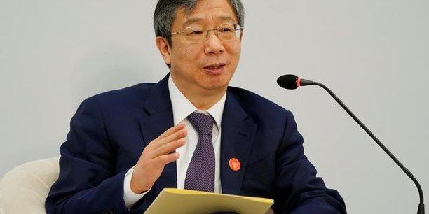 La chine cherchera a ameliorer la flexibilite du yuan, dit le gouverneur de la bpc[reuters.com]