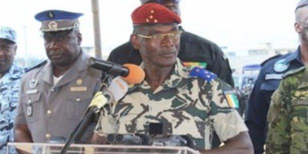 Le général Vagondo Diomandé, ministre ivoirien de la Sécurité.