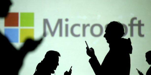 Microsoft fait mieux qu'attendu, soutenu par la croissance d'azur[reuters.com]