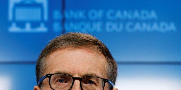 Banque du canada voit son taux directeur inchange jusqu'en 2023[reuters.com]