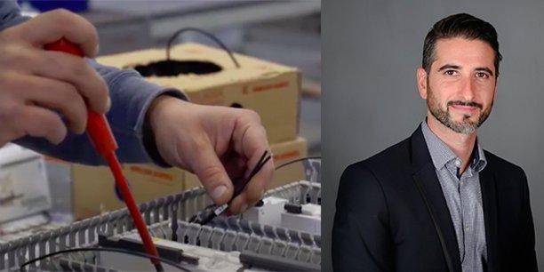 Mathieu Dossat, et P-dg de Delta Automatisme et président du cluster industriel ITS Fusion, à Béziers.