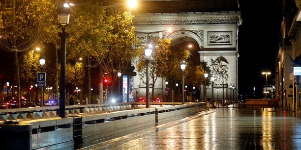 File photo: nightly curfew in paris[reuters.com]
