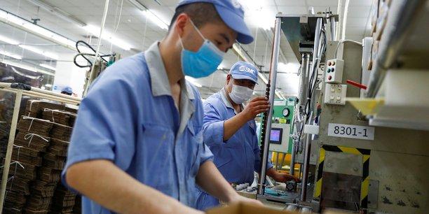 Chine: l'activite industrielle progresse legerement en octobre[reuters.com]