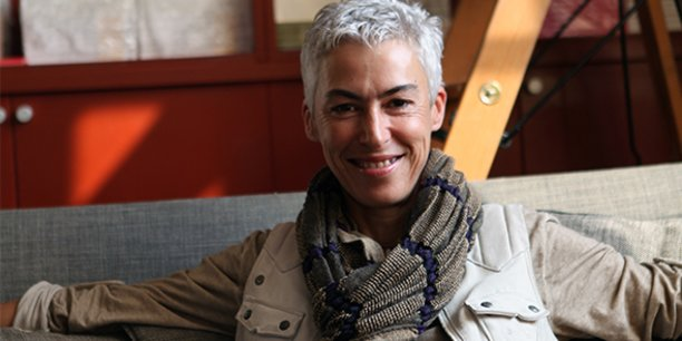 Marion Mazauric, fondatrice et dirigeante des Editions Au Diable Vauvert, dans le Gard.