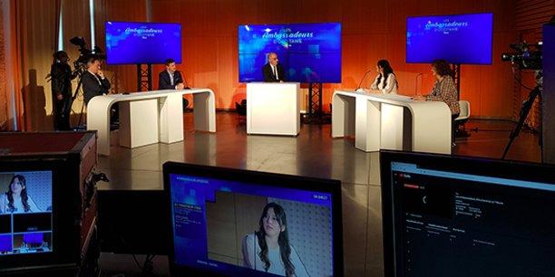 Le 2e volet de l'événement Les Ambassadeurs d'Occitanie a accueilli une douzaine d'acteurs économiques régionaux le 10 novembre 2020, sur plusieurs tables rondes animées par Jean-Claude Gallo, vice-président de La Tribune.