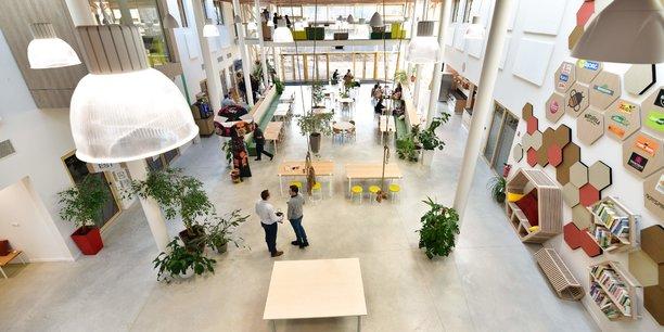 Une vingtaine de salariés basés au sein de la maison mère de Wessanen ont rejoint les locaux de la Ruche, inaugurés en décembre 2018 par Bjorg et Bonneterre.