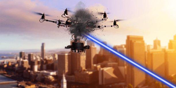 L'effecteur laser HELMA-P, développé par CILAS a réussi à détruire plusieurs drones en vol lors d'essais sur une semaine.